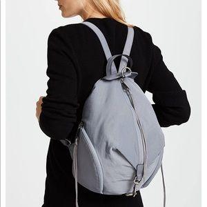 Rebecca Minkoff Julian Gray Nylon Backpack
